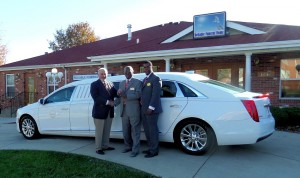 "Superior Cadillac XTS 70"" stretch six door limousine"