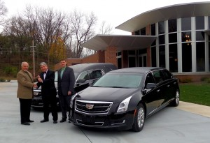 2016 Superior Cadillac Sovereign Funeral Coach